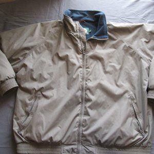Cabelas Fleece Lined Bomber Style Jacket XXL